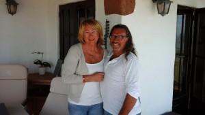 Nous avons retrouvé notre amie Andora rencontrée à Tanger